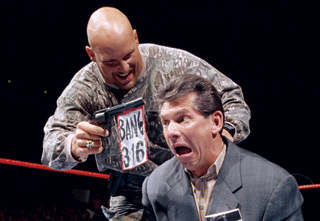 Steve Austin and Vince McMahon