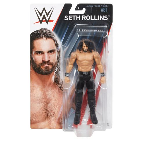 WWE Basic 81 Seth Rollins package