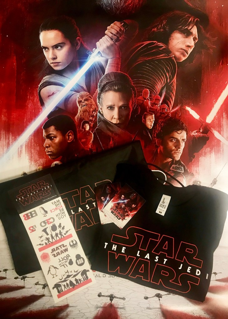 Star Wars: The Last Jedi prize pack