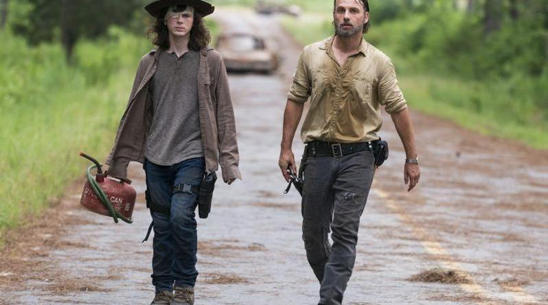 The Walking Dead - How Its Gotta Be review - Carl and Rick Grimes