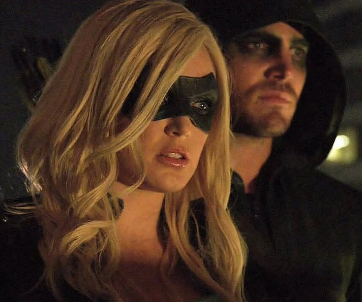 Arrow - Sara and Oliver