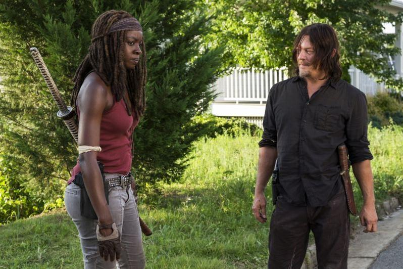 The Walking Dead - How Its Gotta Be review -Michonne and Daryl