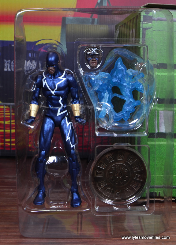 DC Icons Static figure review -accessories