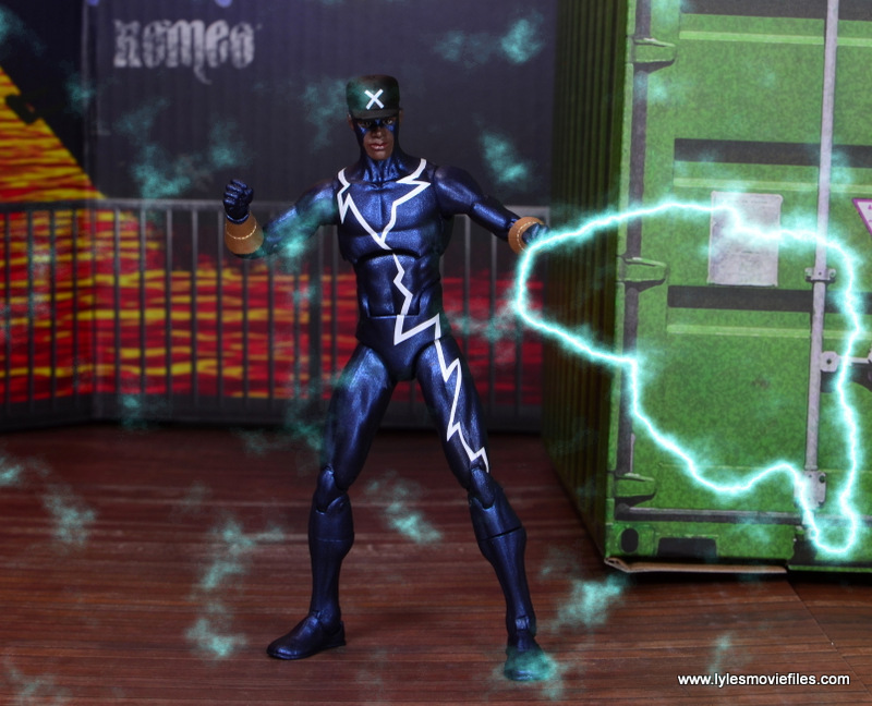 DC Icons Static figure review -lightning strike
