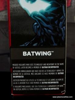 DC Multiverse Batwing figure review - bio