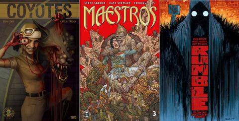 Image Comics reviews for 12-13-17