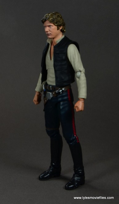 SH Figuarts Han Solo figure review -left side