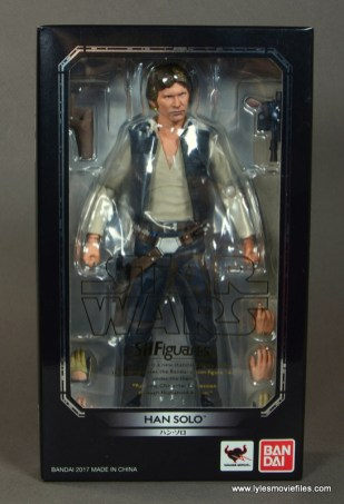 SH Figuarts Han Solo figure review -package front