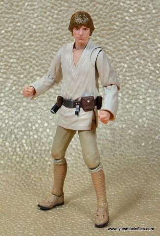 SH Figuarts Luke Skywalker figure review -hands out