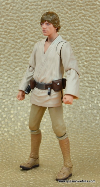 SH Figuarts Luke Skywalker figure review -left side