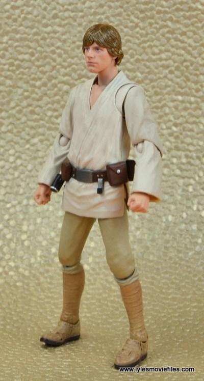 SH Figuarts Luke Skywalker figure review -left side