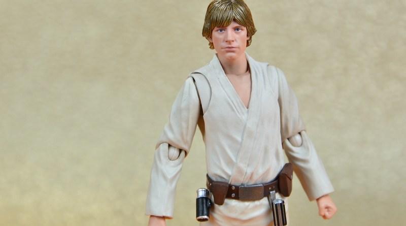 SH Figuarts Luke Skywalker figure review -main pic