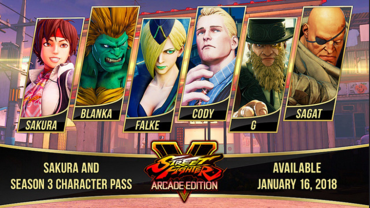 Sakura Guy And Sagat Join The Battle In Street Fighter V Arcade Edition Lyles Movie Files