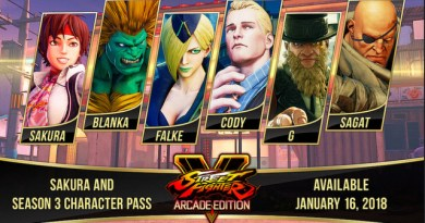 Street Fighter V Season 3 Arcade Edition