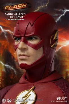 The Flash Real Master Series figure -head close up