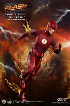 The Flash Real Master Series figure -running left