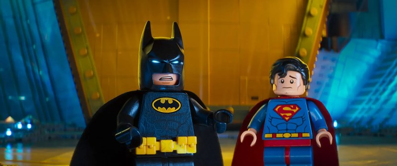 The LEGO Batman Movie - Batman and Superman