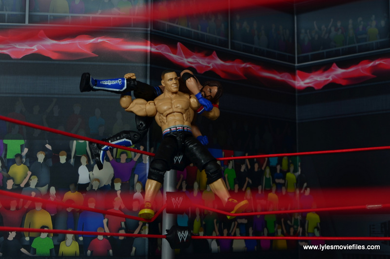WWE Elite 50 John Cena figure review - AA to Styles
