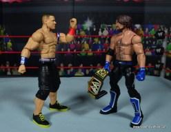 WWE Elite 50 John Cena figure review - AJ can't see Cena