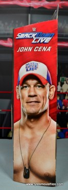 WWE Elite 50 John Cena figure review -package left side