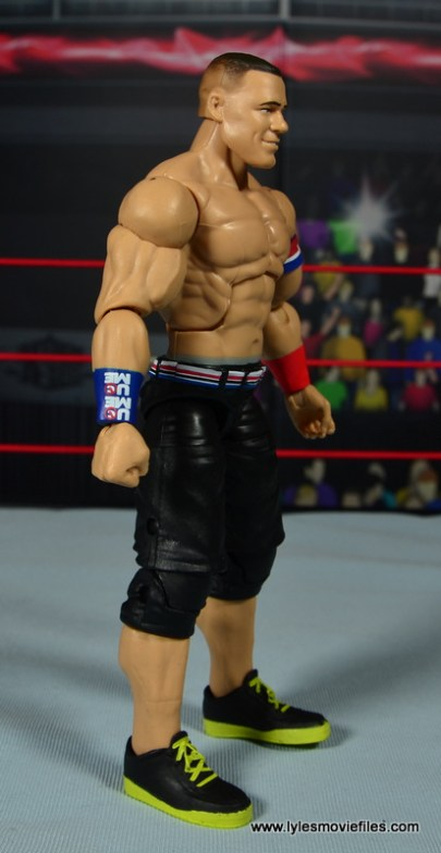 WWE Elite 50 John Cena figure review -right side