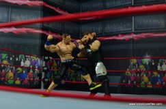 WWE Elite 50 John Cena figure review -vs Kevin Owens