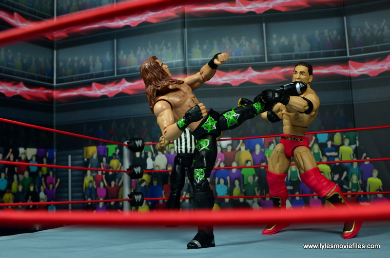 WWE Elite D-Generation X Shawn Michaels figure review - Sweet Chin Music to Shamrock