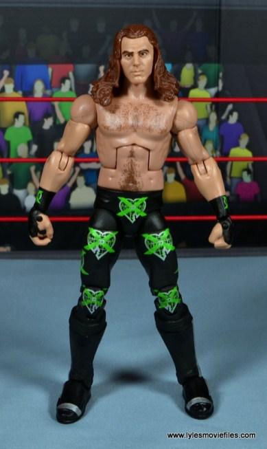 WWE Elite D-Generation X Shawn Michaels figure review - front