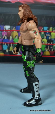 WWE Elite D-Generation X Shawn Michaels figure review - left side