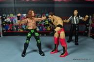 WWE Elite D-Generation X Shawn Michaels figure review - pumching Shamrock