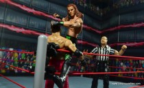 WWE Elite D-Generation X Shawn Michaels figure review - turnbuckle punch to Shamrock