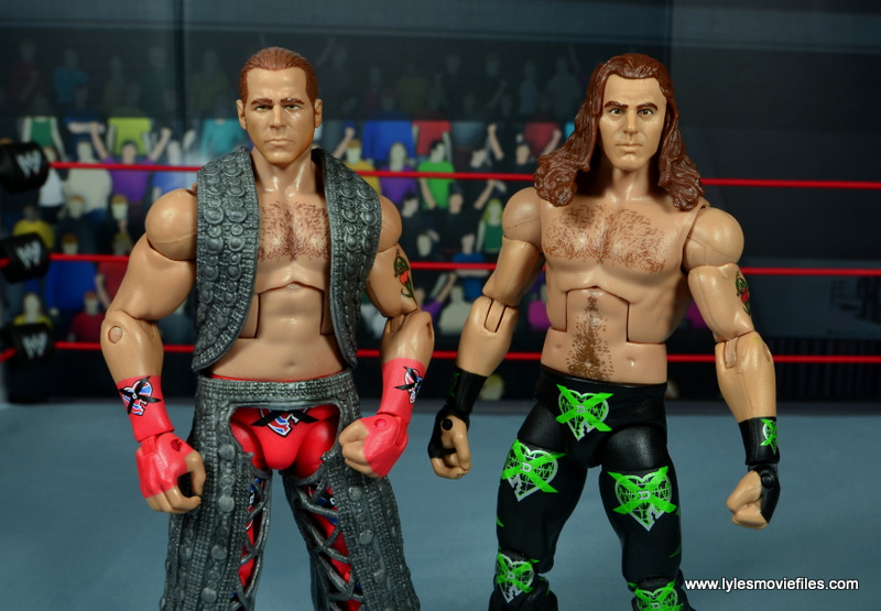WWE Elite D-Generation X Shawn Michaels figure review - with WM 14 HBK