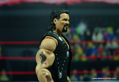 WWE Elite Hall of Fame Diesel figure review -hair right side
