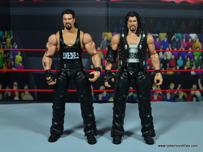 WWE Elite Hall of Fame Diesel figure review -with Elite 16 Diesel