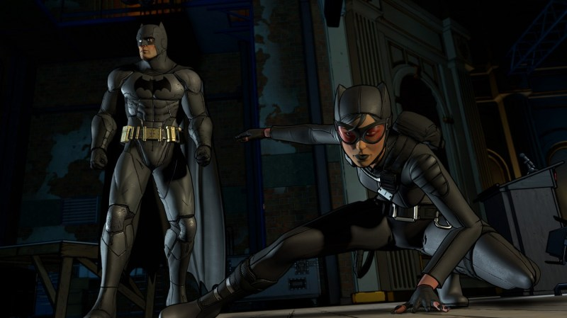 batman the telltale series game review - batman and catwoman