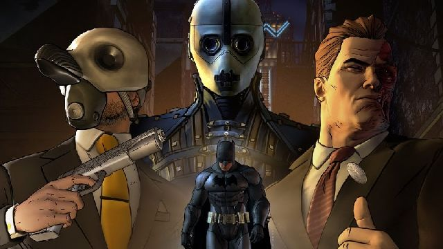 batman the telltale series game review - penguin, arkham, two-face and batman