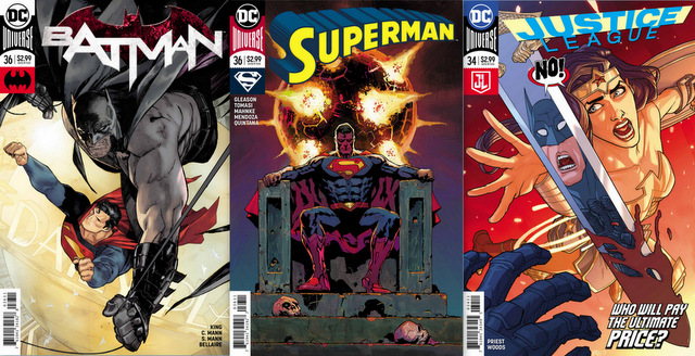 DC Comics for 12/6/17