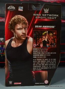 wwe network spotlight dean ambrose figure review -package rear