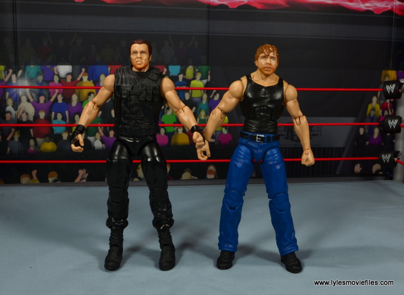 WWE combat Dean Ambrose Action Figure