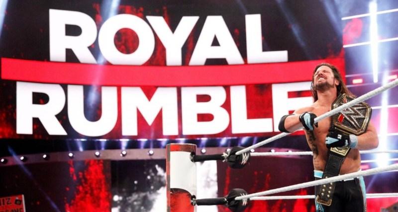 Royal Rumble 2018 - AJ styles