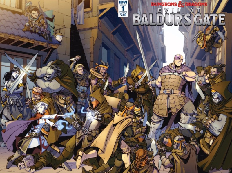 Dungeons and Dragon Evil at Baldur's Gate