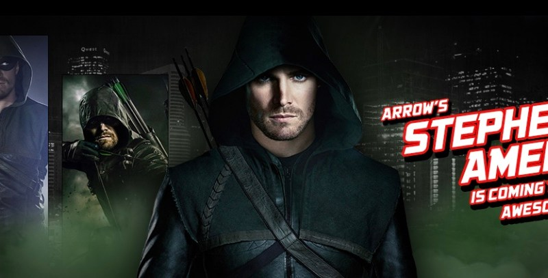 Stephen Amell Awesome Con 2018