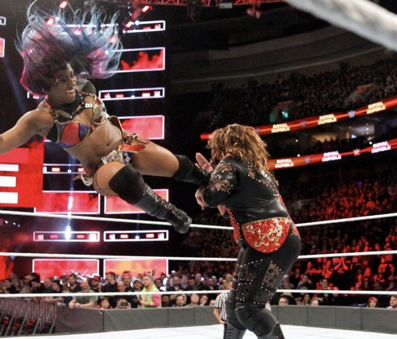 Royal Rumble 2018 - Ember Moon vs nia Jax
