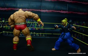 Storm Collectibles Street Fighter V Zangief figure review -banishing flat