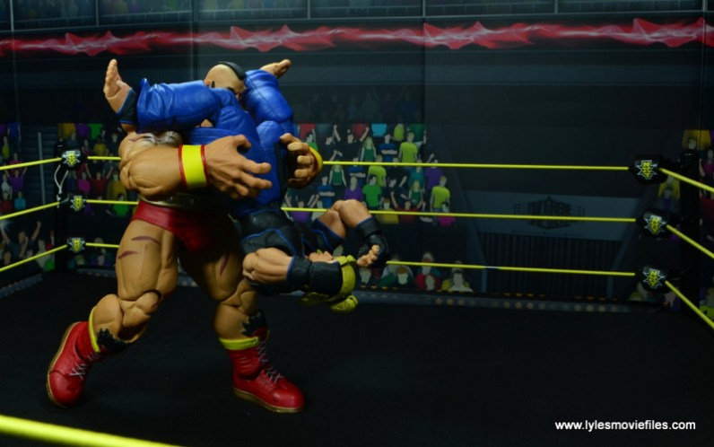 Storm Collectibles Street Fighter V Zangief figure review -powerbomb to Ken