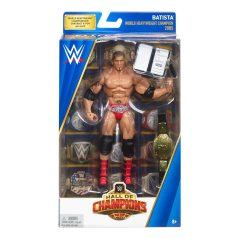 WWE Hall of Champions Elite Collection Batista in package