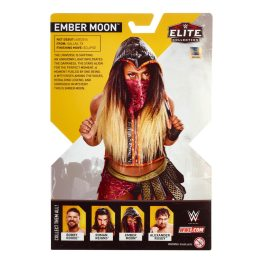 WWE NXT TakeOver Ember Moon Elite package rear