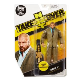 WWE NXT TakeOver Triple H Figure front package