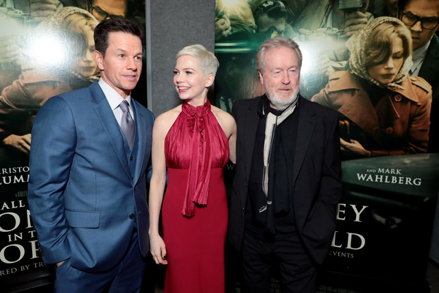 all-the-money-in-the-world-la-Premiere_mark-wahlberg-michelle-williams-and-ridley-scott