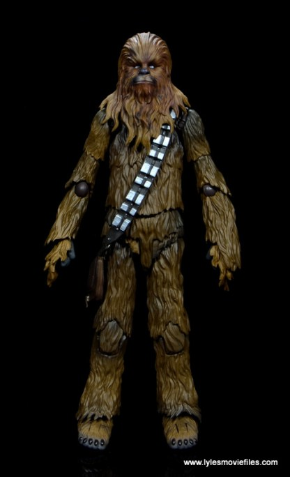 bandai sh figuarts chewbacca figure review - front